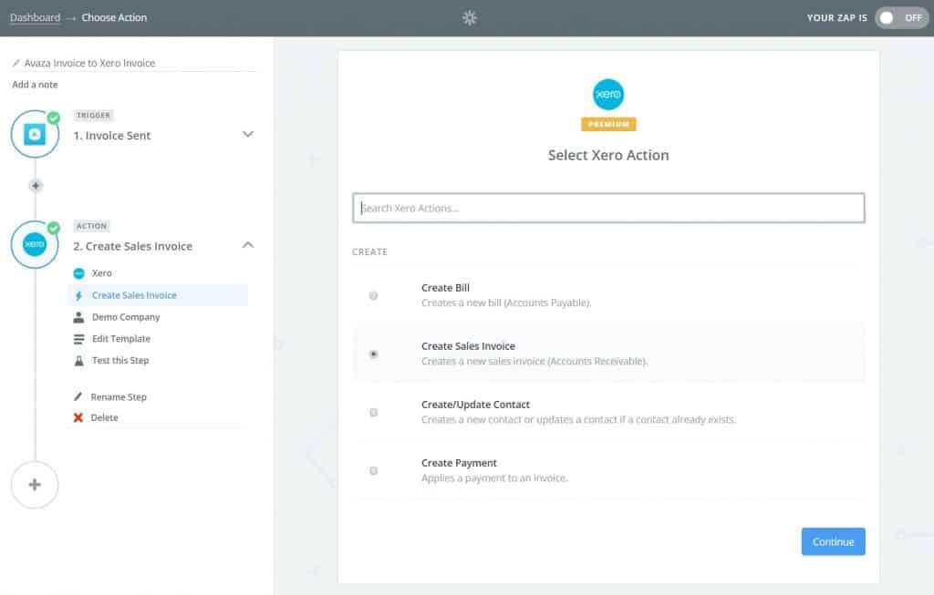 Avaza Integration With Xero Avazacom - Xero invoicing add on