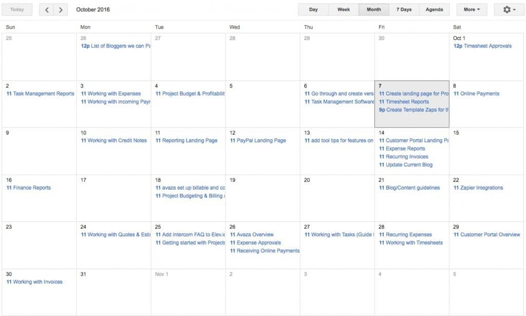 Sync Project Tasks To Your Calendar With Ical Integration