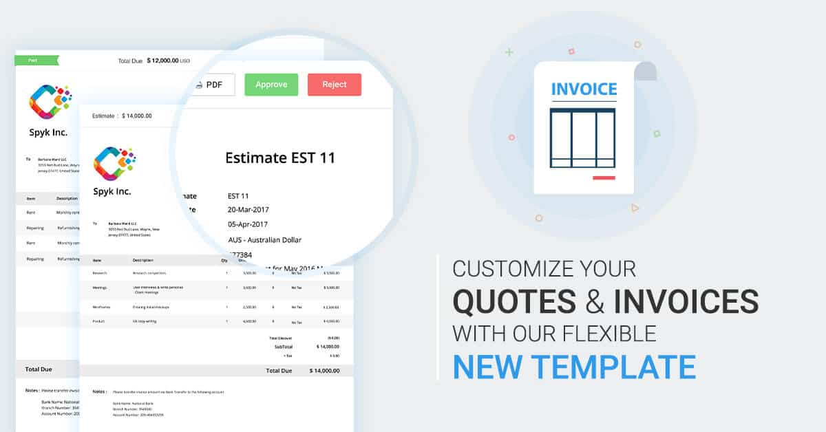 Avaza Releases More Flexible Invoice Templates Avaza