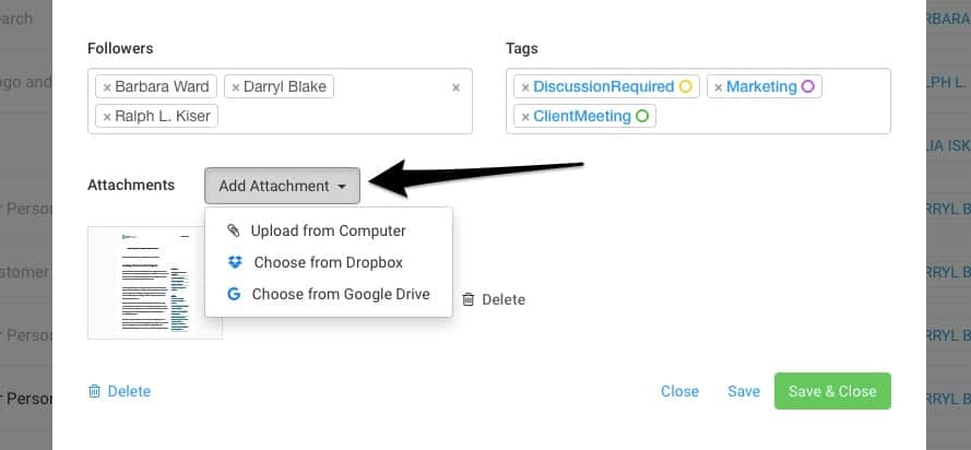 Google Drive & Dropbox Integration